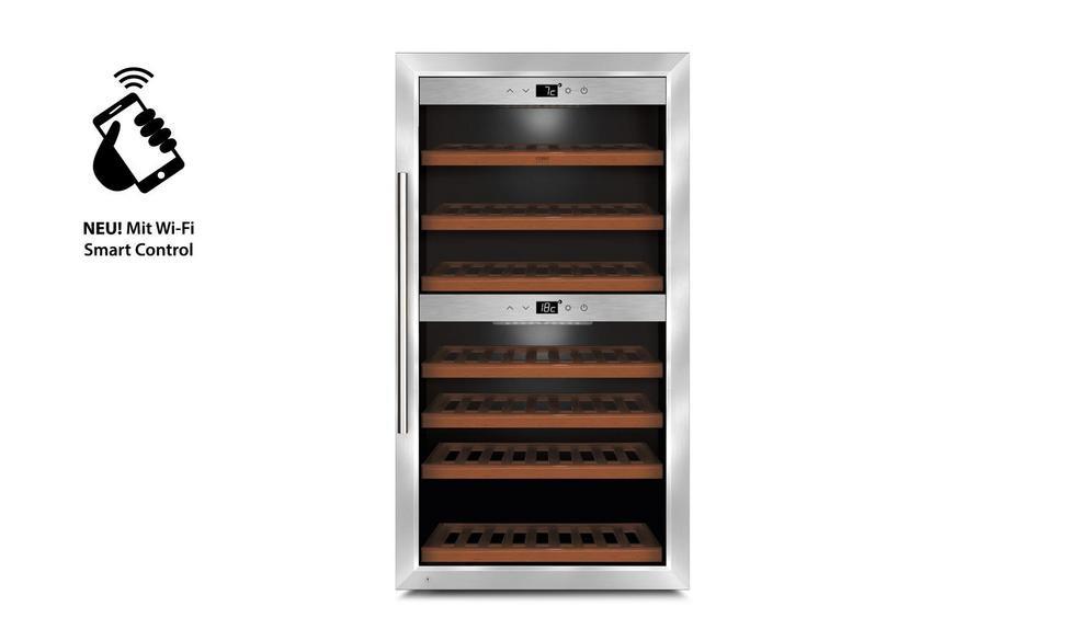 WineComfort 660 Smart, Weinkühlschrank (mit Montagemöglichkeit) (725)